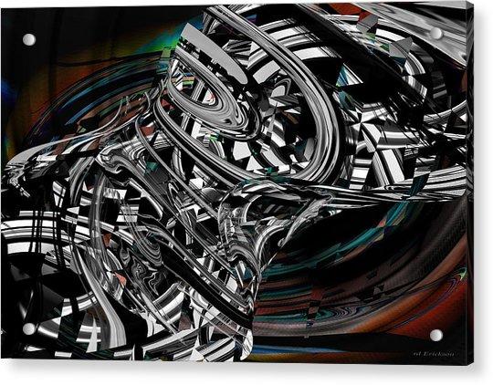 Space Junk Acrylic Print
