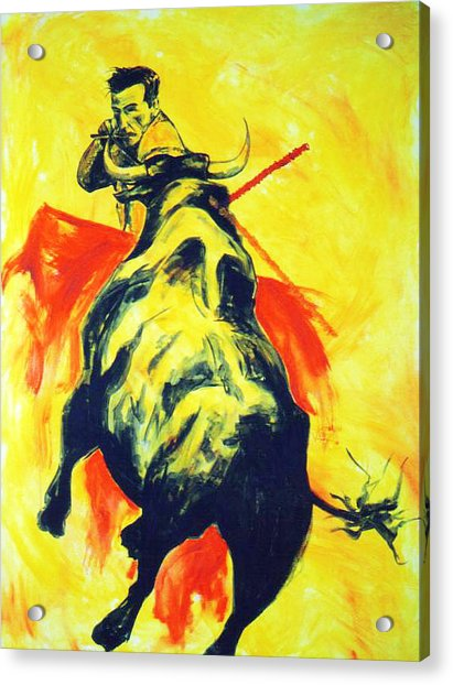 Spanish Bullfight Acrylic Print