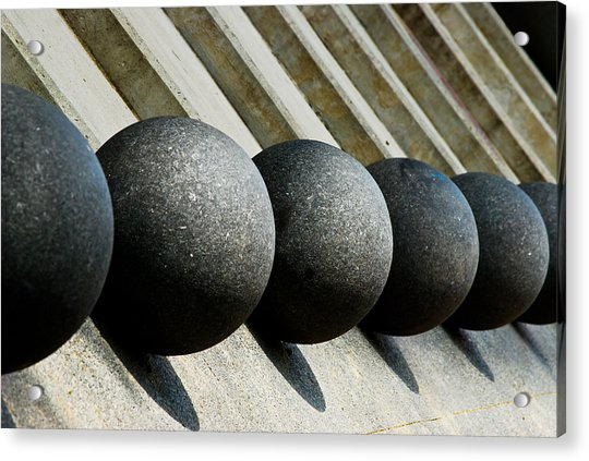 Spheres And Steps Acrylic Print