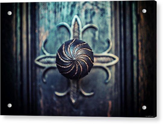 Spiral Knob Acrylic Print