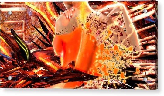 Splatter Of Light Acrylic Print