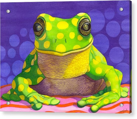 Spotted Frog Acrylic Print