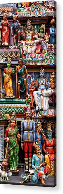 Sri Mariamman Temple 03 Acrylic Print