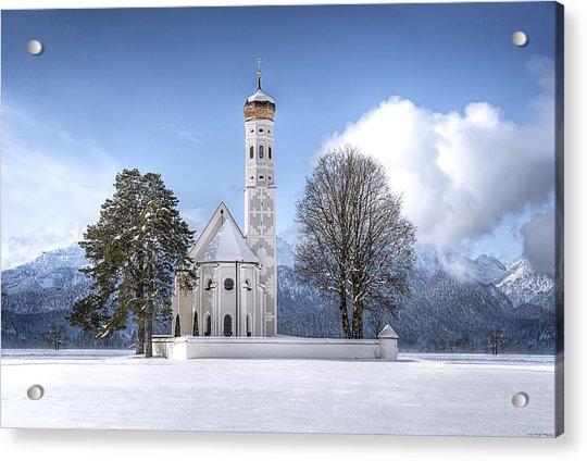 St Colemans Church Acrylic Print