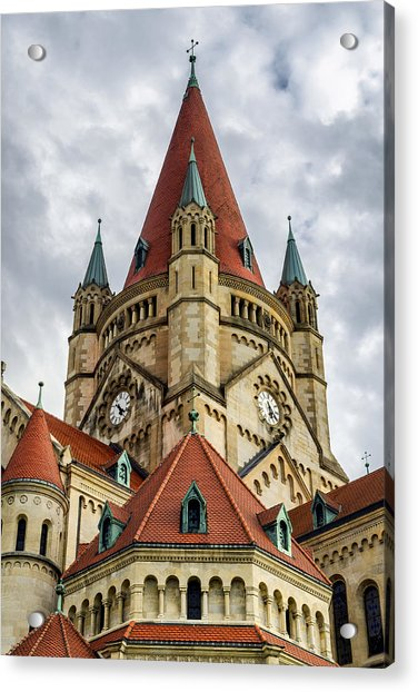 St. Francis Of Assisi Church In Vienna Acrylic Print