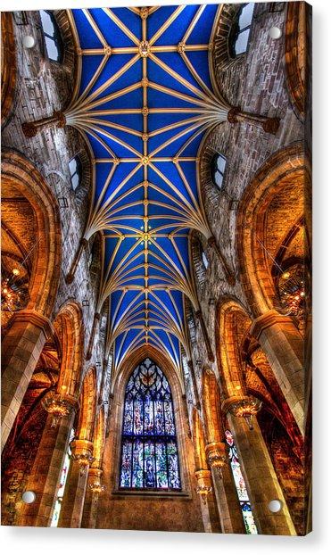 St Giles Cathedral Edinburgh Acrylic Print