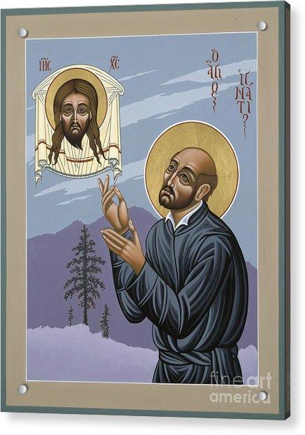 St. Ignatius Amidst Alaska 141 Acrylic Print