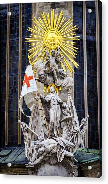 St. John Of Capistrano In Vienna Acrylic Print