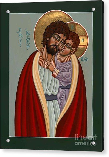 St. Joseph And The Holy Child 239 Acrylic Print