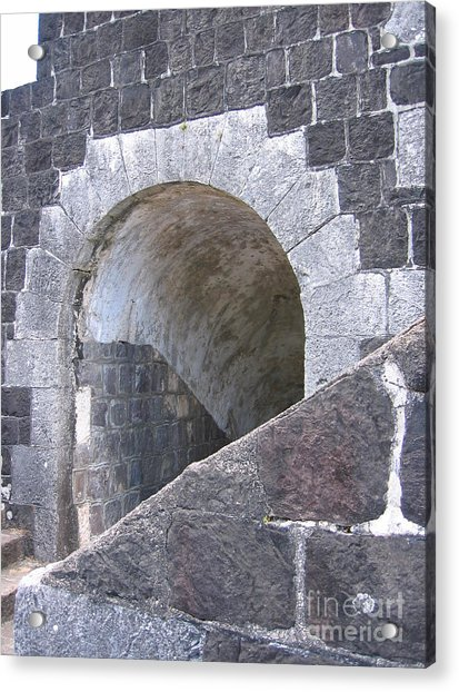 St. Kitts  - Brimstone Hill Fortress Acrylic Print