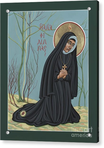 St. Philippine Duchesne 259 Acrylic Print