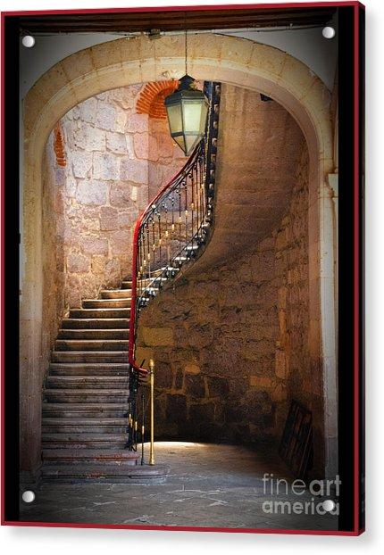 Stairway Of Light Acrylic Print