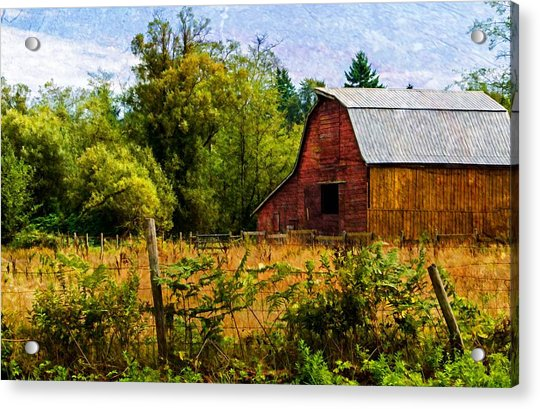 Standing The Test Of Time Acrylic Print