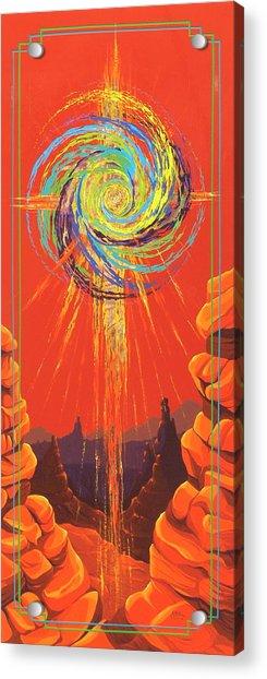 Star Of Splendor Acrylic Print