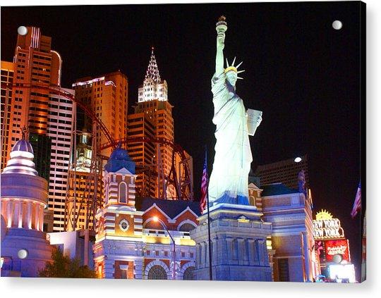 Statue Of Liberty Replica Acrylic Print