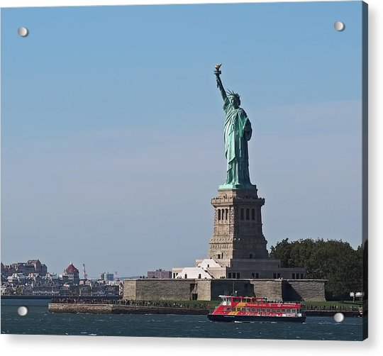 Acrylic Print featuring the photograph Statue Of Liberty by Rona Black