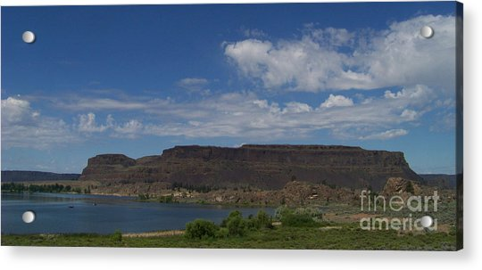 Steamboat Rock Acrylic Print