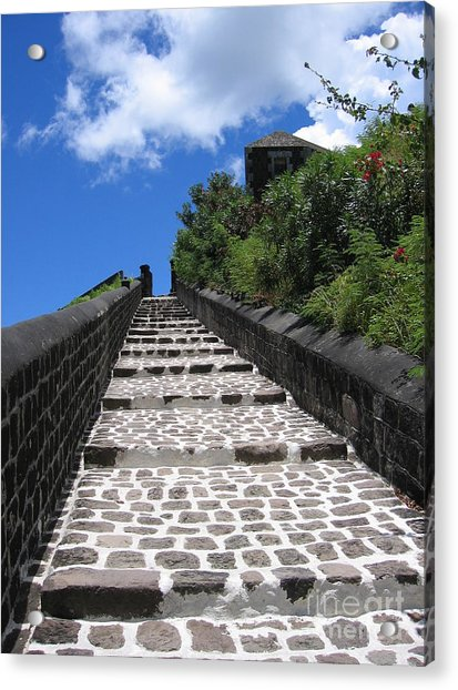 St.kitts - Ascent Acrylic Print