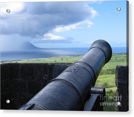 St.kitts Nevis - On Guard Acrylic Print