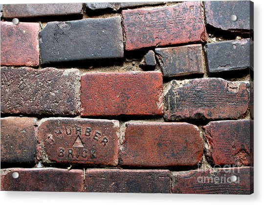 Stockyards Brick Acrylic Print