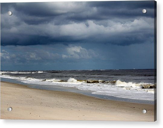 Acrylic Print featuring the photograph Storm Clouds by Cynthia Guinn