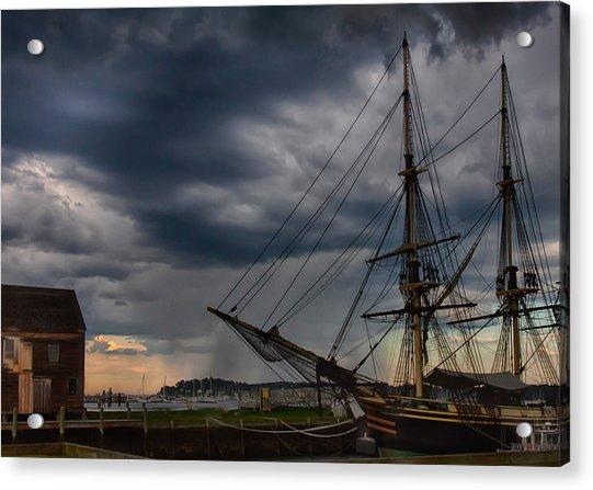 Storm Passing Salem Acrylic Print