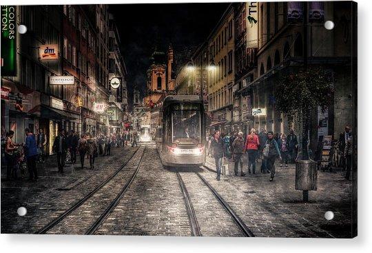Street Stories Acrylic Print