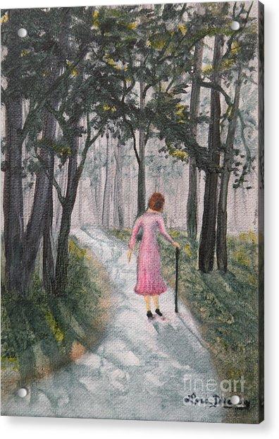 Strolling Down Memory Lane Acrylic Print