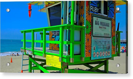 Summer Of Color - Mike Hope Acrylic Print