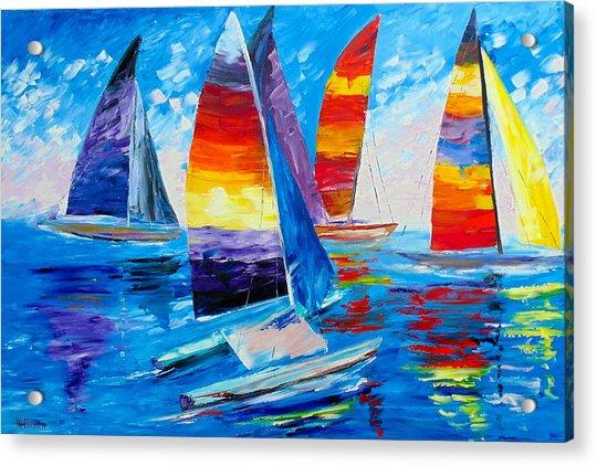 Summer Regatta Acrylic Print