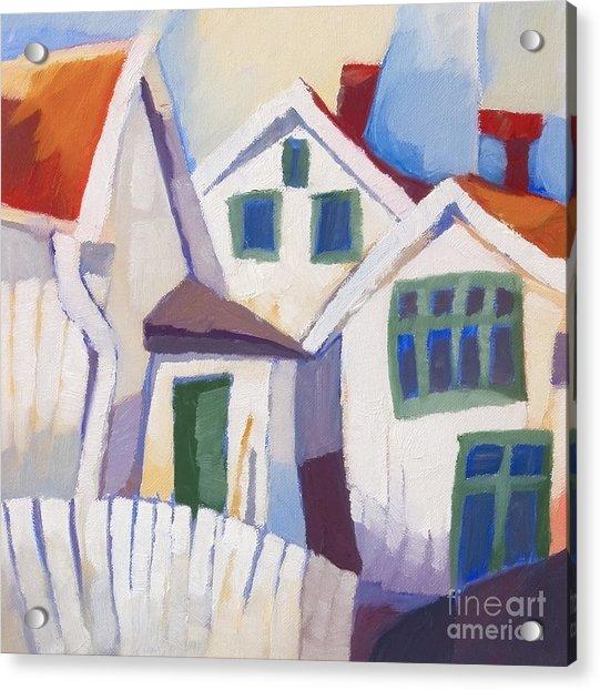 Summerhouses Acrylic Print