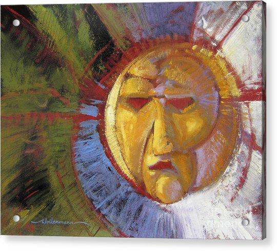 Sun Mask Acrylic Print
