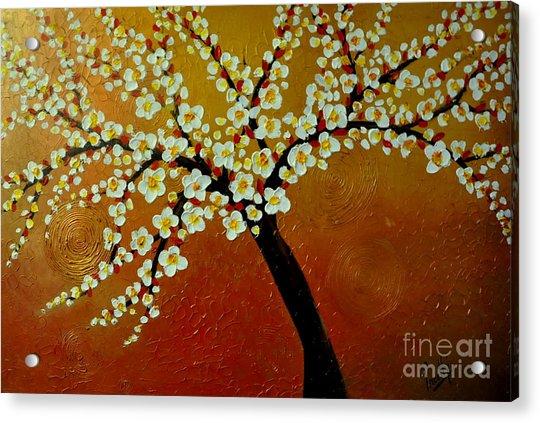 Sunny Blossom Acrylic Print