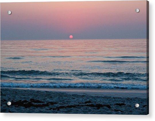 Sunrise Blush Acrylic Print