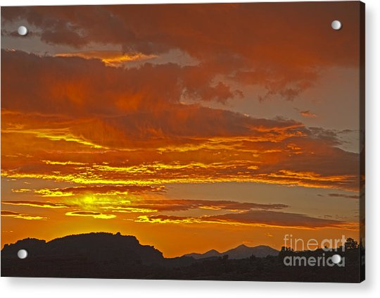 Sunrise Capitol Reef National Park Acrylic Print