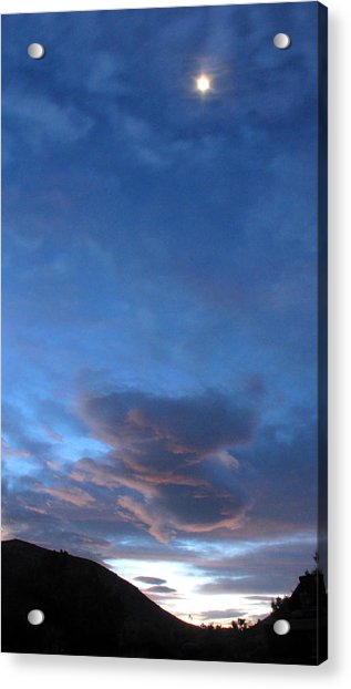 Sunrise In Joshua Tree Acrylic Print