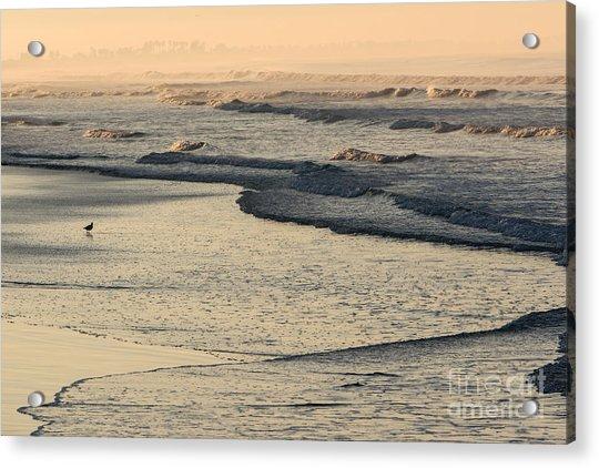 Sunrise On The Ocean Acrylic Print