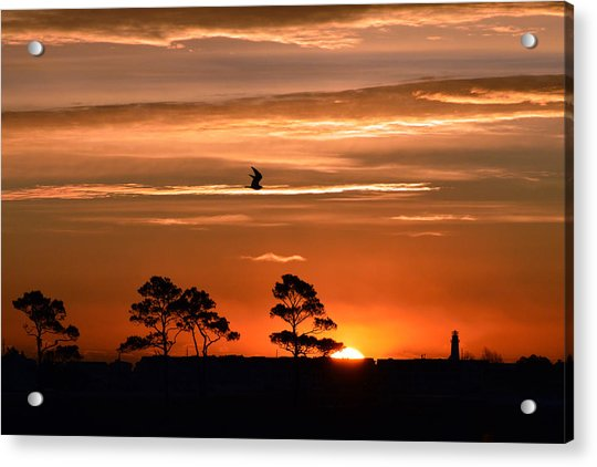 Sunrise Over Fenwick Island Acrylic Print