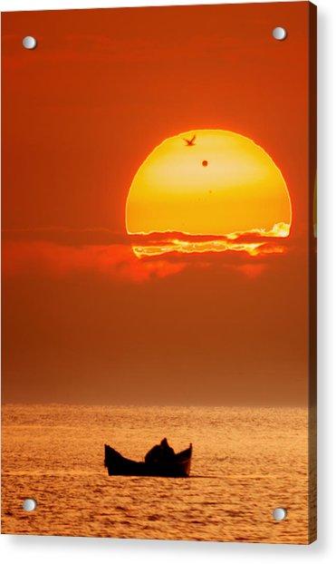 Sunrise With Venus On It Acrylic Print