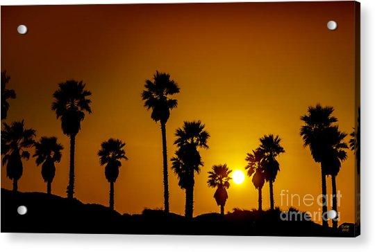 Sunset At The Beach Large Canvas Art, Canvas Print, Large Art, Large Wall Decor, Home Decor Acrylic Print