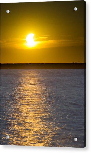 Sunset Eclipse Acrylic Print