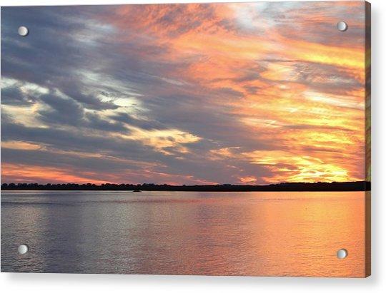 Acrylic Print featuring the photograph Sunset Magic by Cynthia Guinn