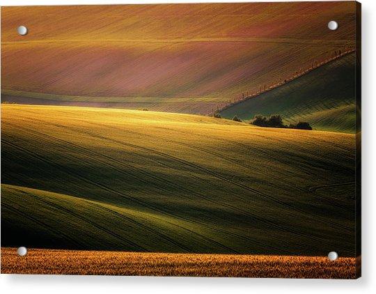 Sunset Palette Acrylic Print by Marek Boguszak