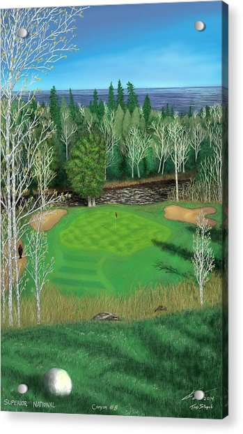 Superior National Golf Canyon 8 Acrylic Print