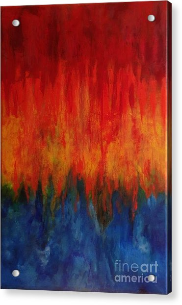 Synchronicity Happens Acrylic Print by Bebe Brookman