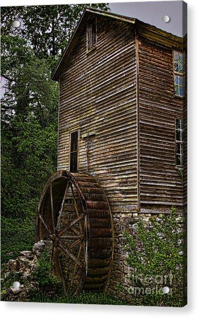Tall Mill Acrylic Print