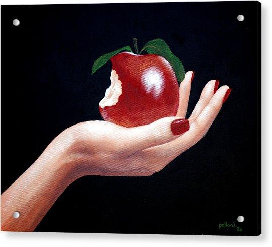 Temptation I Acrylic Print