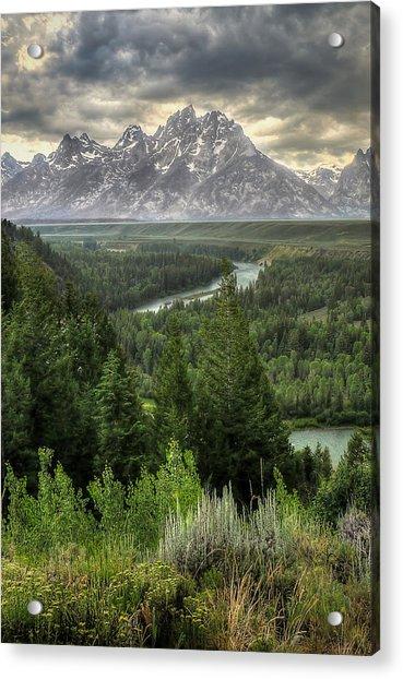 Teton Visions Acrylic Print