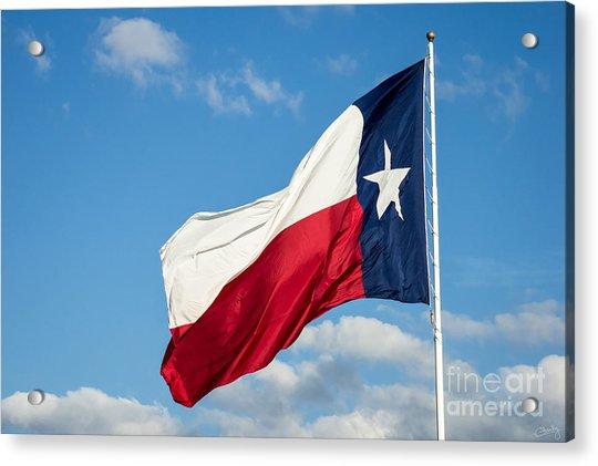 State Flag Of Texas Acrylic Print