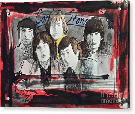 Tha Rollin' Stones Acrylic Print